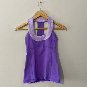 Lululemon Purple Tank Top Size 4